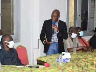 Victimes des troubles postélectorales / Les transporteurs reçoivent la compassion du Ministre Amadou Koné