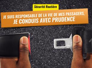 Campagne de sensibilisation routière à Abidjan